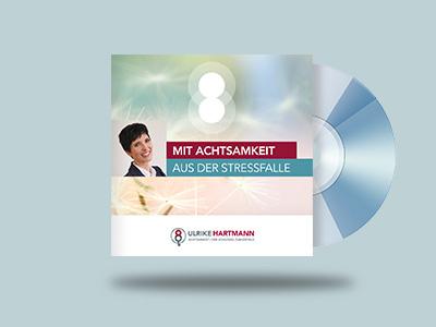Grafik der CD von Ulrike Hartmann Expertin für Achtsamkeit